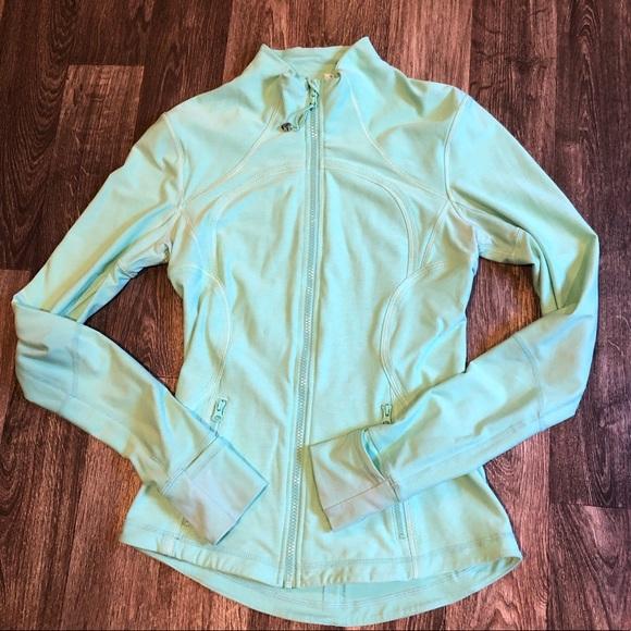 lululemon athletica Jackets & Blazers - Lululemon Mint Zip Lightweight Jacket